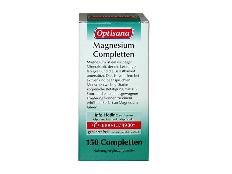 Optisana Magnesium Completten von Lidl