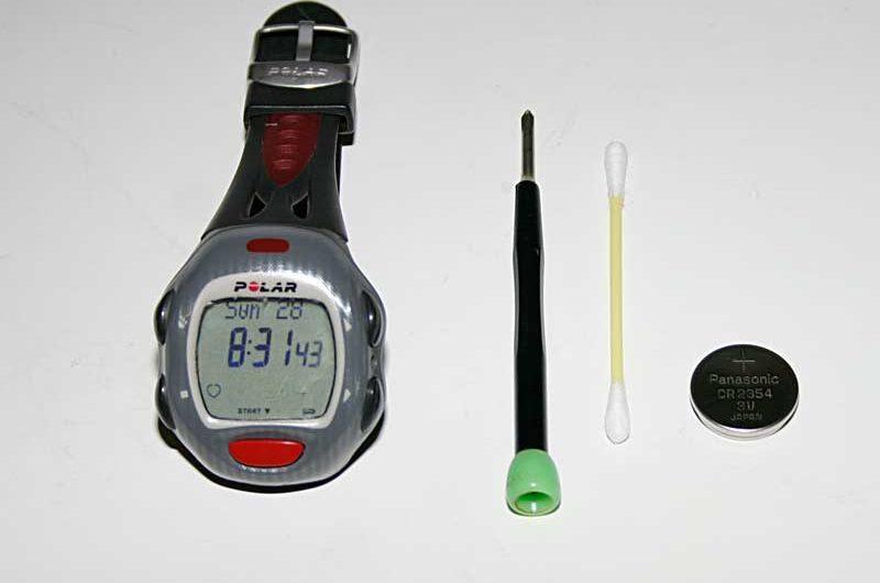 Batteriewechsel Polar Herzfrequenzmesser – Wer macht denn so was?