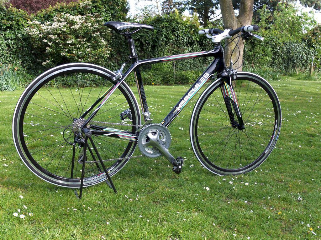 """Hercules Viper Pro im Test – """"Glück Auf"""" sagt das Carbonbike"""