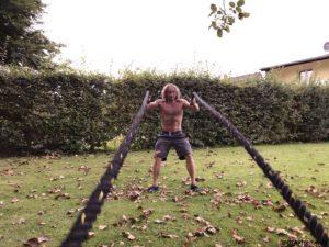 Battle-Rope-Training - Waves