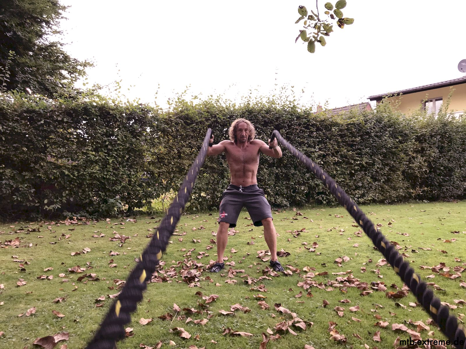 Battle-Rope-Training - Waves