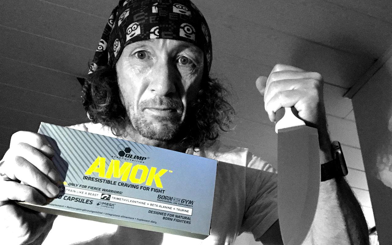 AMOK-Kapseln von Olimp im Test – Trainingsbooster für Biker