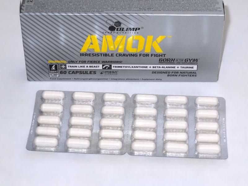 Olimp Amok Trainingsbooster im Test