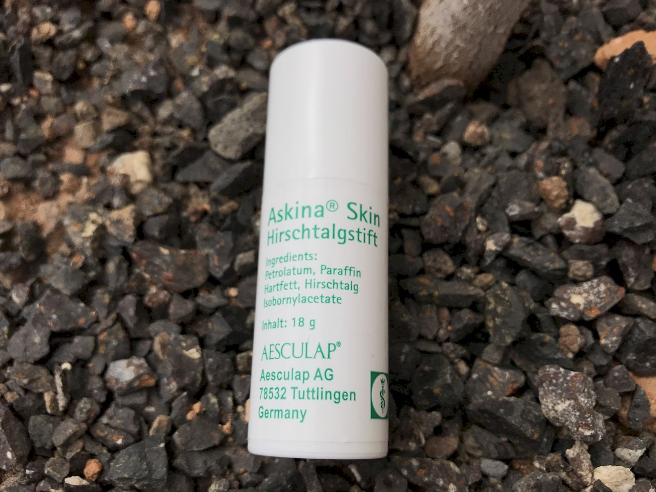 Askina-Hirschtalgstift verhindert Wundscheuern