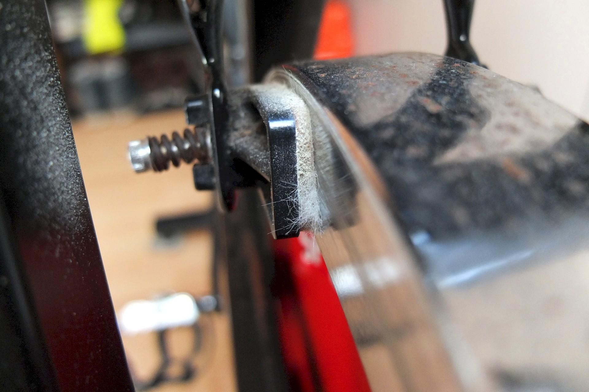 Spinning-Bike von Schwinn - Filzbremse