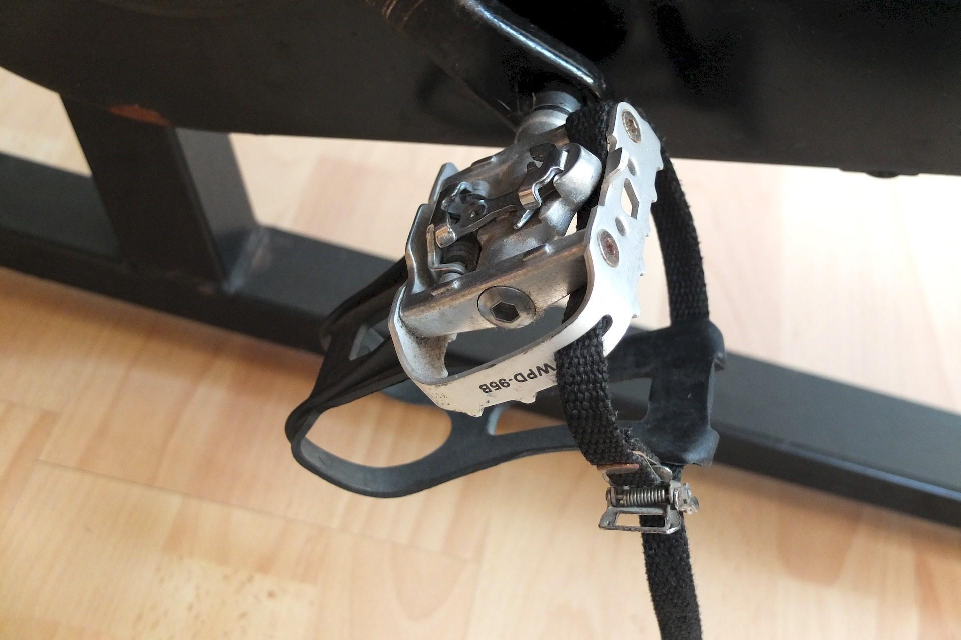 Spinning-Bike von Schwinn - Die Pedalen