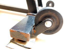 Spinning-Bike von Schwinn - Transportrollen