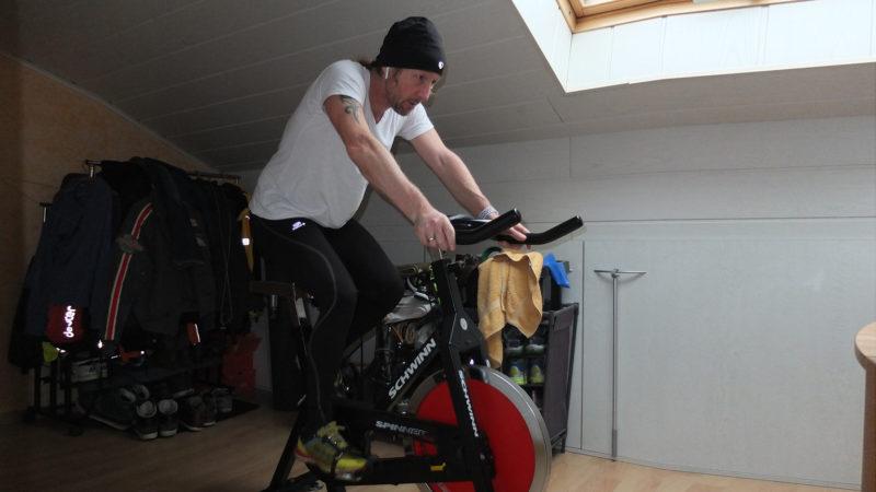 Wintertraining für Mountainbiker - Spinning-Bike