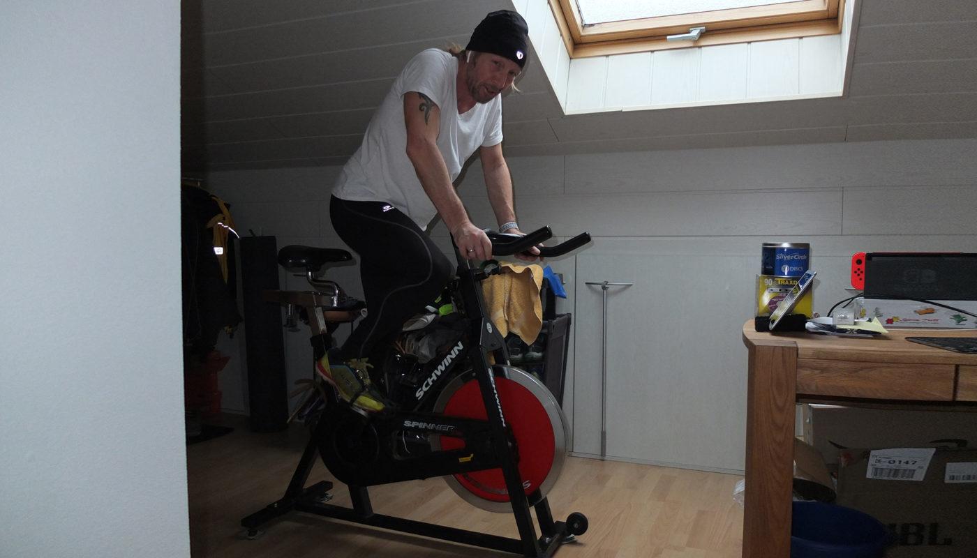 Spinning-Bike als Trainingsalternative im Winter
