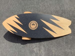Balance-Board mit Griptape
