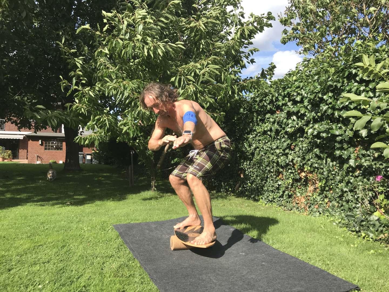 Balance-Board-Grunduebungen