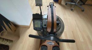 Ruderergometer-Cockpit-View