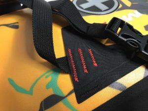 MSX-Satteltasche mit verstärkten Befestigungspunkten