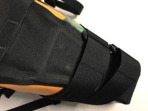 MSX-Satteltasche - kräftige Klettverschlüsse zur Befestigung