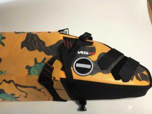 MSX-Satteltasche von der Seite mit Reflektor