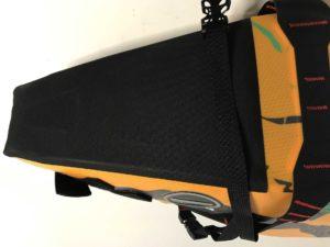 Die Verstärkungen machen die MSX-Satteltasche zum perfekten Begleiter