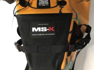 MSX-Satteltasche Aqualung stabile Verarbeitung